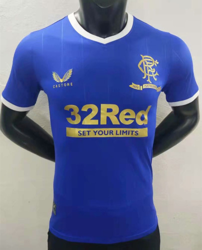 Player Version Rangers 21/22 Authentic 150th Anniversary Jersey