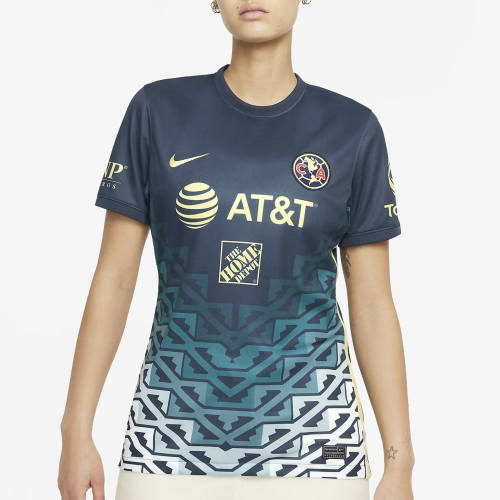 Thai Version Women's Club America 21/22 Away Jersey