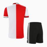 Feyenoord Rotterdam 21/22 Home Jersey and Short Kit
