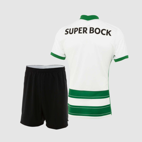 Kids Sporting CP 21/22 Home Jersey and Short Kit