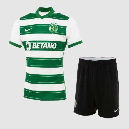 Sporting CP 21/22 Home Jersey and Short Kit