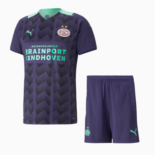 PSV Eindhoven 21/22 Away Jersey and Short Kit