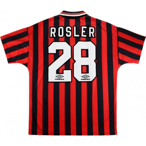 Manchester City 1994/1996 Away Retro Jersey - Rosler #28