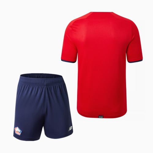 Lille OSC 21/22 Home Jersey and Short Kit