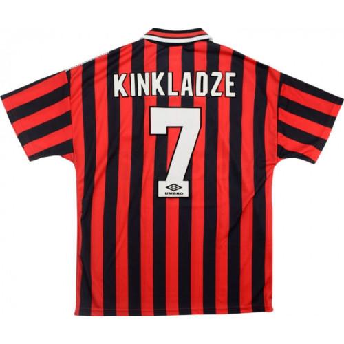 Manchester City 1994/1996 Away Retro Jersey - Kinkladze #7