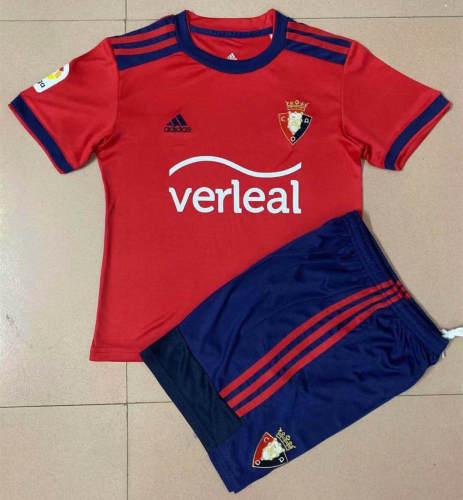 Osasuna 21/22 Home Jersey and Short Kit
