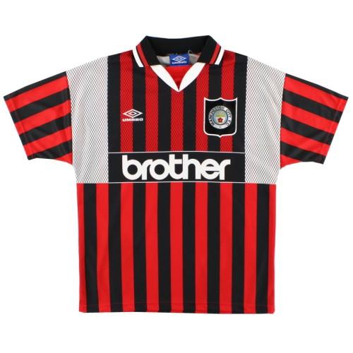 Manchester City 1994/1996 Away Retro Jersey