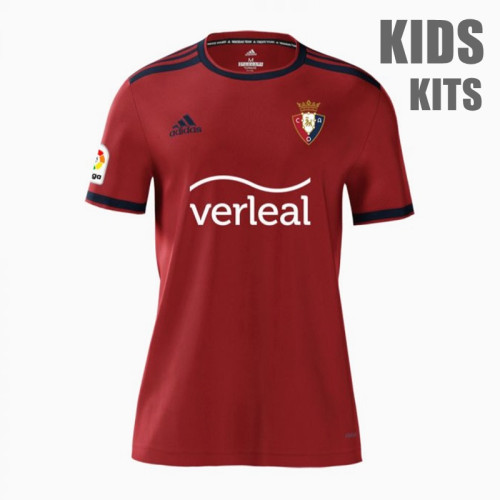 Kids Osasuna 21/22 Home Jersey and Short Kit