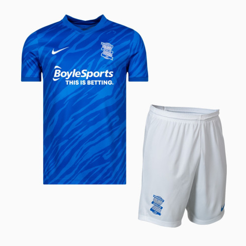 Birmingham City 21/22 Home Jersey and Short Kit