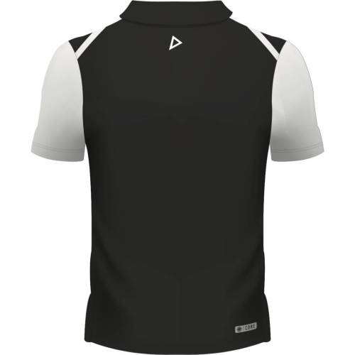 Fiji Airways Mens Sevens Performance Rugby Polo - Black