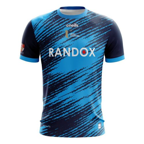 Ulster University 2021 Mens Training Rugby Jersey Marine Blue