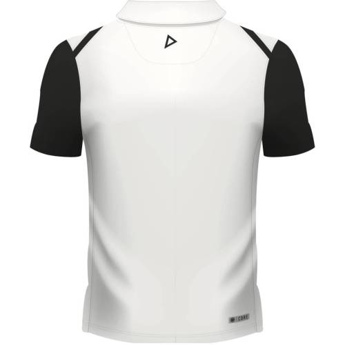 Fiji Airways Mens Sevens Performance Rugby Polo - White
