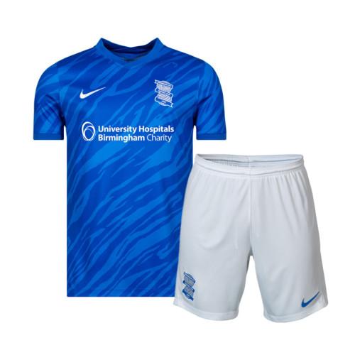 Kids Birmingham City 21/22 Home Jersey and Short Kit