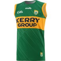 Kerry GAA 2021 Men's Home 2 Stripe Rugby Vest