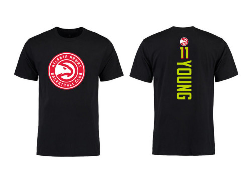 Men's Player Team T-Shirt - Trae Young - Black