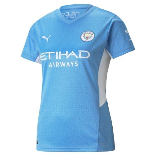 Thai Version Women's Manchester City 21/22 Home Jersey