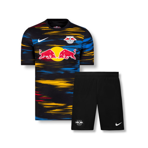 Kids RB Leipzig 21/22 Away Jersey and Short Kit