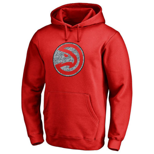 Men's Team Logo Classic Pullover Hoodie - Red