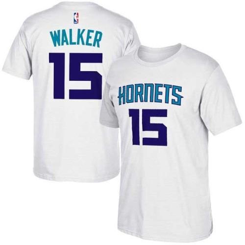 Men's Player Team T-Shirt - Kemba Walker - White
