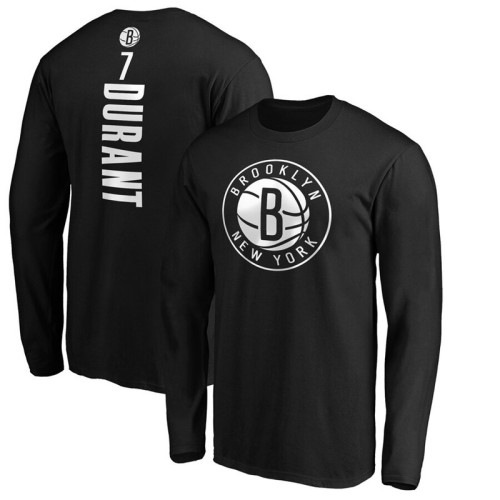 Men's Player Team L/S T-Shirt - Kevin Durant - Black