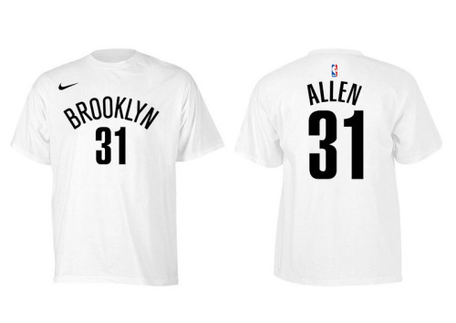 Men's Player Team T-Shirt - Jarrett Allen - White