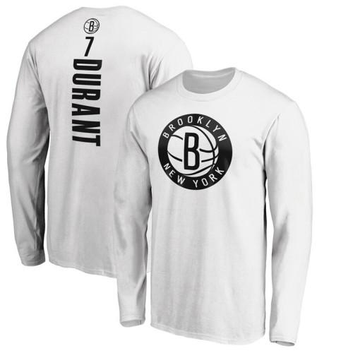 Men's Player Team L/S T-Shirt - Kevin Durant - White