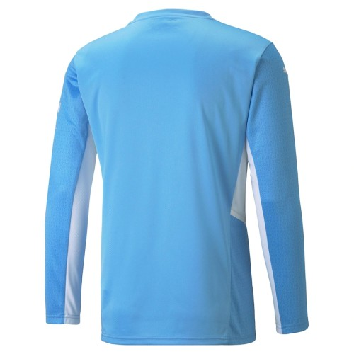 Thai Version Manchester City 21/22 Home Long Sleeve Jersey