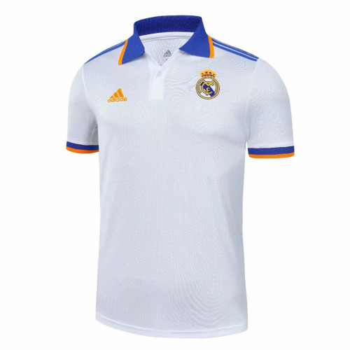 Real Madrid 21/22 Pre-Match Polo Shirt - Home