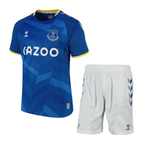 Everton 20/21 Home Jersey and Short Kit