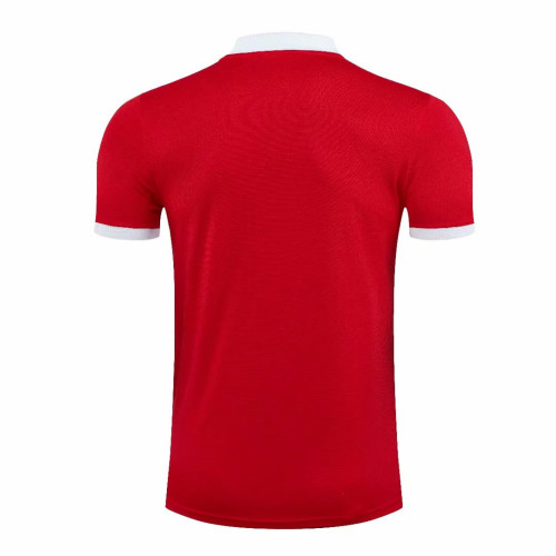 Manchester United 21/22 Pre-Match Polo Shirt - Home