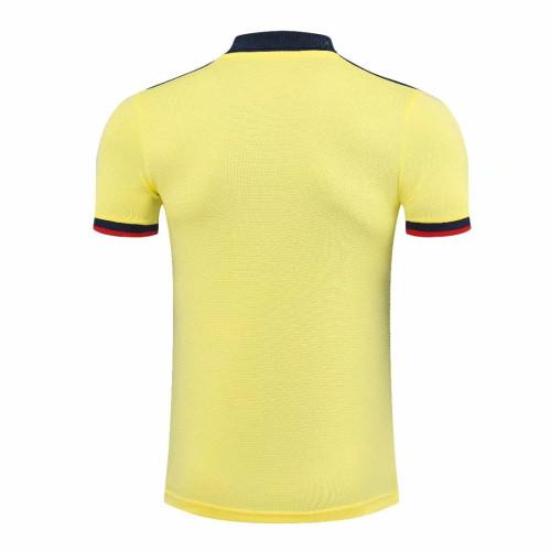 ARS 21/22 Pre-Match Polo Shirt - Yellow