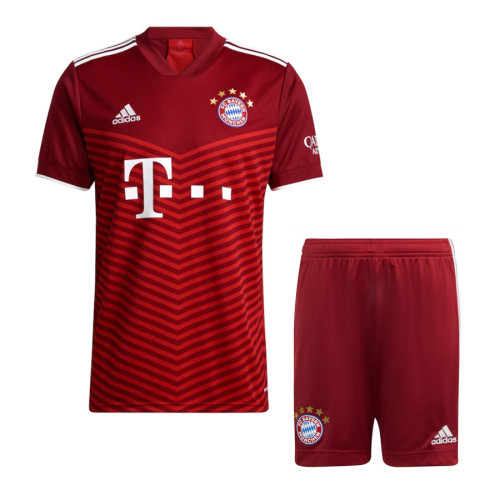 Bayern Munich 21/22 Home Jersey and Short Kit