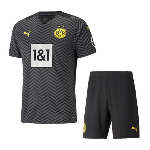 Borussia Dortmund 21/22 Away Jersey and Short Kit