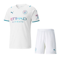 Manchester City 21/22 Away Jersey and Short Kit