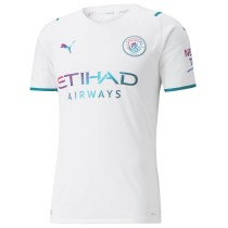 Player Version Manchester City 21/22 Away Authentic Jersey