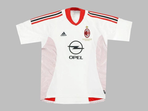 AC Milan 2002 UCL Away Retro Jersey - 3 Maldini