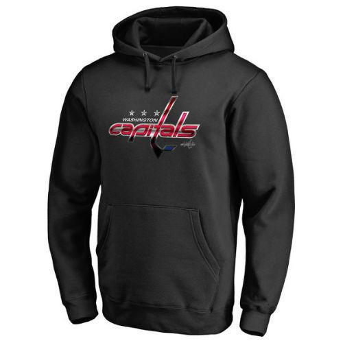 Men's Team Logo Classic Pullover Hoodie 488