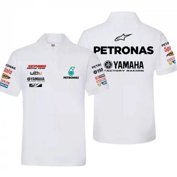 Petronas Yamaha Sepang Racing Team Polo - White