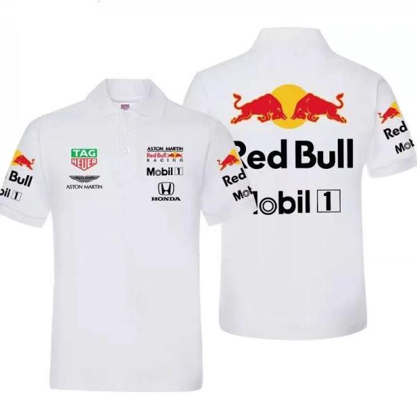 Red Bull Racing F1 Team Polo Shirt 2021 - White