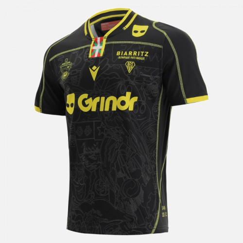 Biarritz Olympique 2021/22 Mens Away Rugby Jersey