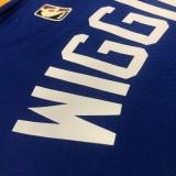 Thai Version Andrew Wiggins Men's Blue 2021-22 75th Anniversary Jersey - Classic Edition
