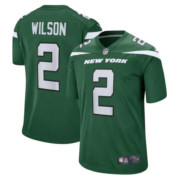 Men's Zach Wilson Gotham Green 2021 Draft First Round Pick Player Limited Team Jersey