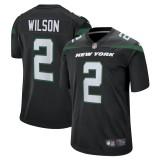 Men's Zach Wilson Black Alternate 2021 Draft First Round Pick Player Limited Team Jersey