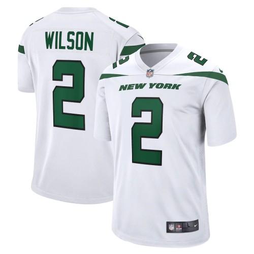 Youth Zach Wilson White 2021 Draft First Round Pick Player Limited Team Jersey