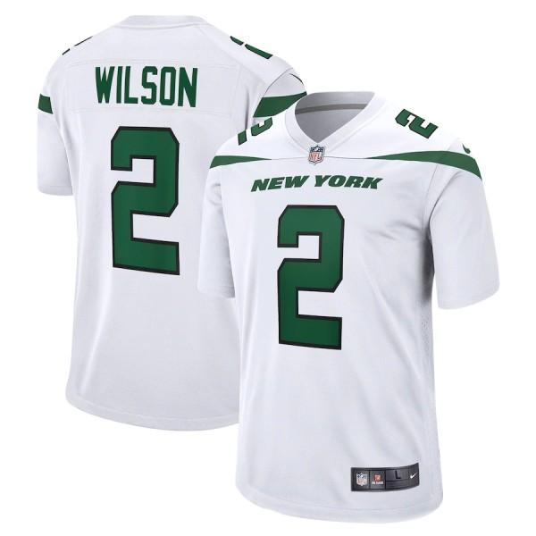 Men's Zach Wilson White 2021 Draft First Round Pick Player Limited Team Jersey