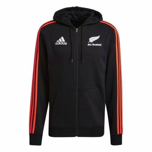 All Blacks 2021 Full Zip Hoodie - Black