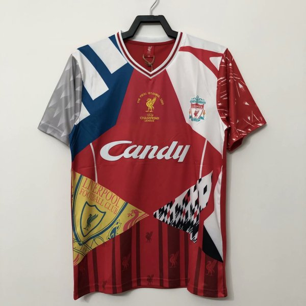Liverpool The Final Istanbul 2005 Retro Commemorate Jersey