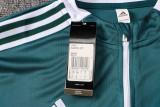 Bayern Munich 21/22 Drill Tracksuit Blackish Green B488#