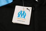 Olympique Marseille 21/22 Drill Tracksuit Black B500#