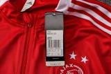 Ajax 21/22 Drill Tracksuit Red B497#